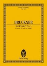 Bruckner Anton - Symphonie N°5 - Conducteur