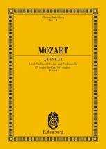 Mozart Wolfgang Amadeus - String Quintet Eb Major Kv 614 - 2 Violins, 2 Violas And Cello