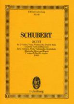 Schubert Franz - Octet F Major Op.166 - Study Score