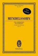Mendelssohn Bartholdy Felix - The Hebrides Op 26 - Orchestra