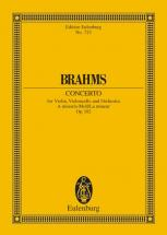 Brahms Johannes - Double Concerto A Minor Op.102 - Violin, Cello And Orchestra