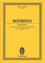 Beethoven L.v. - Triple Concerto C Major Op. 56 - Piano, Violin, Cello And Orchestra