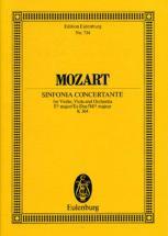 Mozart W.a. - Sinfonia Concertante Eb Major  Kv 364 - Violin, Viola And Orchestra