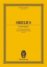 Sibelius Jean - Concerto For Violin And Orchestra D Minor Op 47 - Violin And Orchestra