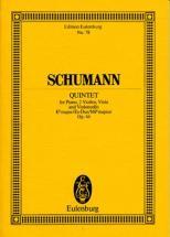 Schumann Robert - Piano Quintet E Flat Major Op. 44 - Piano, 2 Violins, Viola And Cello