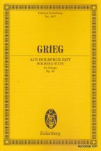 Grieg Edvard - Holberg Suite Op. 40 - Strings