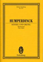 Humperdinck E. - Haensel Und Gretel - Conducteur Poche