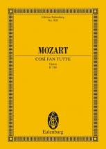 Mozart W.a. - Cosi Fan Tutte K 588 - 6 Soloists, Choir And Orchestra