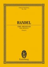 Handel George Frideric - The Messiah  Hwv 56 - 4 Solo Parts, Choir And Orchestra