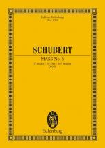 Schubert Franz - Mass No. 6 Eb Major D 950 - Soprano, Alto, Tenor, Bass, Choir And Orchestra
