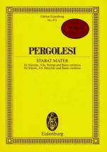 Pergolesi Giovanni Battista - Stabat Mater - Soprano, Alto, Strings And Basso Continuo