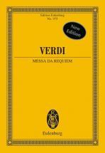 Verdi Giuseppe - Messa Da Requiem - Soprano, Mezzo-soprano, Tenor, Bass, Choir And Orchestra