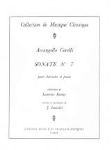 Corelli Arcangello - Sonate N°7 - Clarinette and Piano