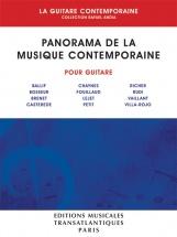 Rafael Andia - Panorama De La Guitare Contemporaine