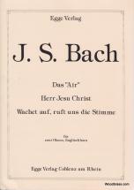 Bach J. S. - Das Air, Herr Jesu Christ, Wachet Auf - 2 Hautbois Et Cor Anglais