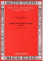 Porpora Nicola - Sonate Xii Di Violino E Basso, Sonate I