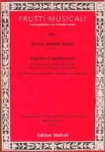 Riccio G. B. - Canzonen Und Sonaten Band Iii