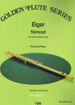 Elgar E. - Nimrod From Enigma Variations Op.36 - Flute & Piano