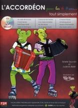 Sauvain E. and Beier L. - L'accordeon Pour Les 6/9 Ans Tout Simplement
