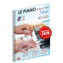 Astie C. - Le Piano Pour Les 9-15 Ans + Cd