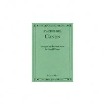 Pachelbel J. - Canon - Flute Et Piano