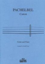 Pachelbel J. - Canon - Violon and Piano