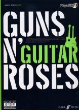 Guns N' Roses Authentic Play Along Guitar Tab + Cd