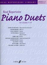 Real Repertoire Piano Duets Grades 4-6 Intermediate - Piano