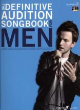 Definitive Audition Songbook For Men + 2 Cd - Pvg