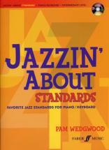 Jazzin' About Standards Piano / Keyboard + Cd