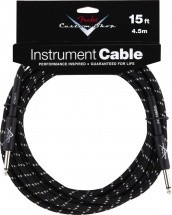 Fender Custom Shop Cable Pour Instrument 4m50 Tweed Noir