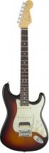 Fender American Elite Stratocaster Hss Shawbucker Mn 3 Color Sunburst + Etui