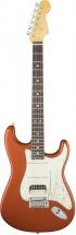 Fender American Elite Stratocaster Hss Shawbucker Mn Autumn Blaze Metallic + Etui