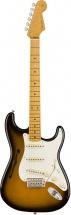 Fender Ej Thinline Stratocaster Mn 2 Tons Sunburst