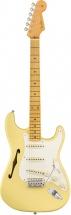 Fender Ej Thinline Stratocaster Mn Vintage White