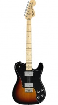 Fender 72 Telecaster Deluxe Touche Erable 3 Color Sunburst