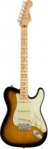 Fender Strat-telecaster Hybrid Mn 2 Tons Sunburst