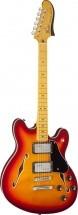 Fender Starcaster Maple Neck Aged Cherry Burst
