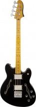 Fender Starcaster Maple Neck Black