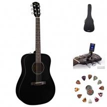 Fender Cd 60 Black V2 + Accessoires