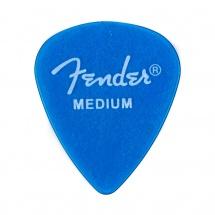 Fender Pack De 12 Mediators California Clear Medium Moyen Lake Placid Blue