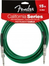 Fender California Serie Cable Pour Instrument 4m50 Vert
