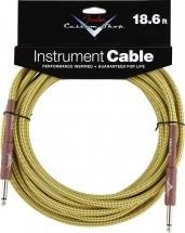 Fender Custom Shop Cable Pour Instrument 4m50 Tweed