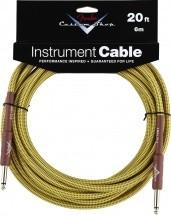 Fender Custom Shop Cable Pour Instrument 6m Tweed
