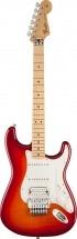 Fender Standard Stratocaster Hss Plus Top W/floyd Rose Locking Tremolo Aged Cherry Burst