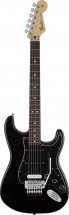 Fender Mexican Standard Stratocaster Hss Floyd Rose Pf Black