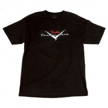 Fender Custom Shop Original Logo T-shirt Noir S