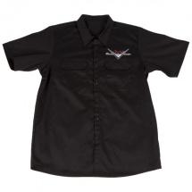 Fender Custom Shop Workshirt Noir Xxl