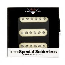 Fender Set De 3 Micros Texas Special Stratocaster Sans Soudures