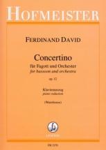 Ferdinand David - Concertino Fur Fagott Und Orchester Op.12 - Basson and Piano